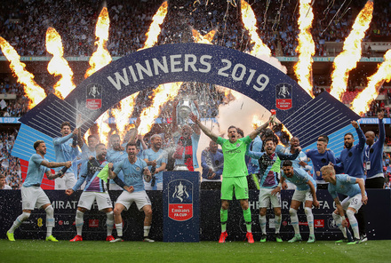 Manchester City x Watford - The Emirates FA Cup 2018/2019 - Final