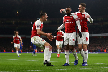 Arsenal x Chelsea - Premier League 2018/19