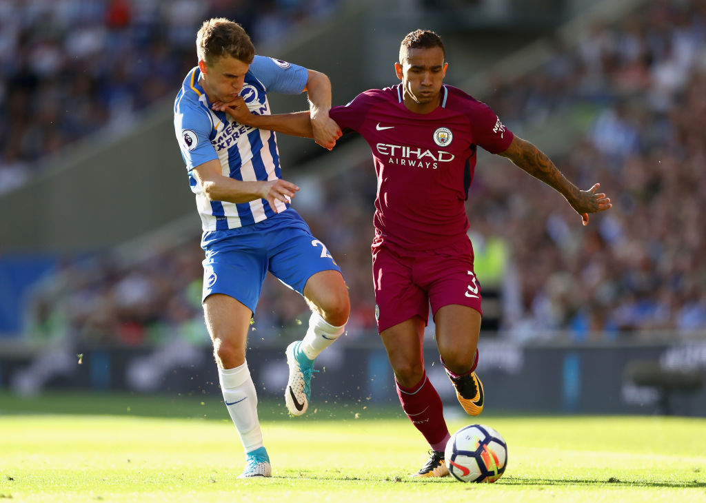 Brighton x Manchester City - Premier League 2017/2018 - Jornada 1